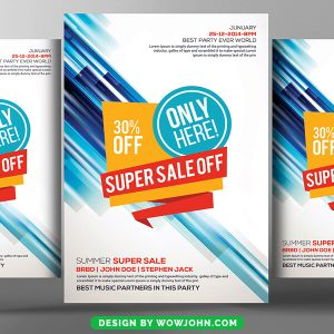Sales Flyer Templates Free Download