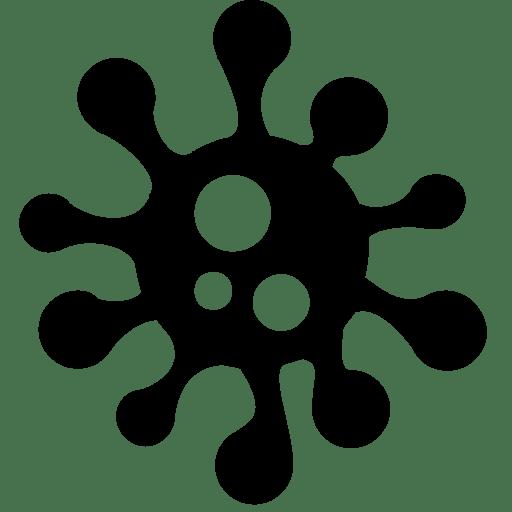 Coronavirus Germs Transparent
