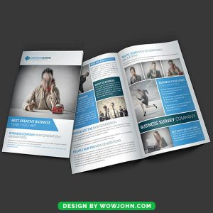 Free Business Consultants Brochure Template