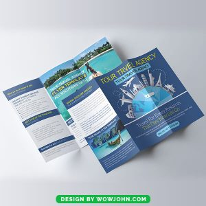 Free Tour Travel Agency Brochure Psd Template