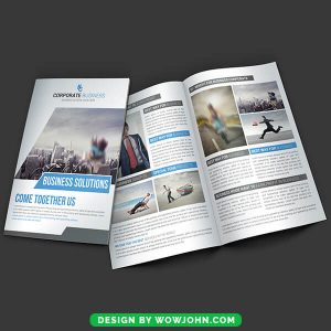 Free Real Estate Brochure Template PSD