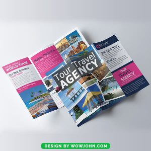 Free Tour Travel Agency Brochure in PSD Format