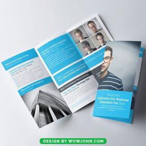 Free High School Brochure Psd Template