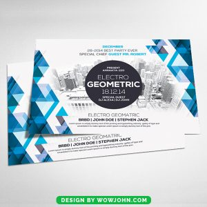 Free Minimal Abstract Flyer Psd Templates