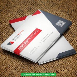 Free Plumbing Business Card Psd Template