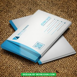 Free Restaurants Business Card Psd Template