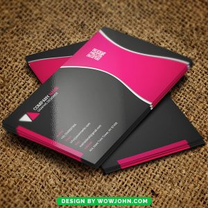 Free Schools Education Business Card Psd Template
