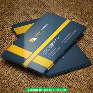 Free Veterinary Services Business Card Psd Template
