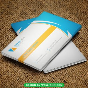 Free Landscaping Business Card Psd Template
