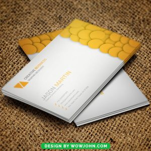 Free Painting Contractor Business Card Psd Template