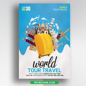 Travel Agency Flyer Template Free
