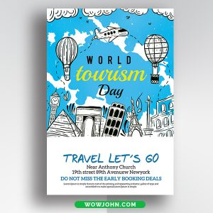 Free Travel Poster Design Psd Templates