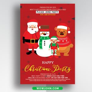 Free Christmas Card PNG Images Psd Template