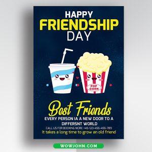 International Friendship Day Thank You Card Psd Template