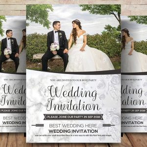 Free Wedding Flyer Psd Template Download