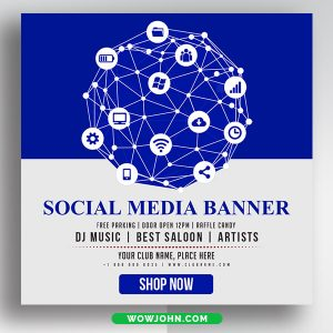 Free Lifestyle Social Media Banner Psd Templates