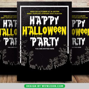 Free Halloween Witchfest Flyer Psd Template