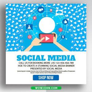 Free Urban Social Media Post Psd Templates
