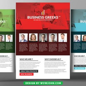 Free Security Services Company Flyer Psd Template
