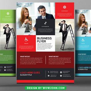 Free Marketing Business Flyer Psd Template