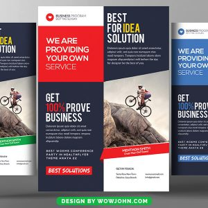 Free Business Photography Flyer Psd Template