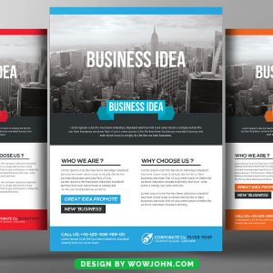Free Online Coaching Flyer Psd Template