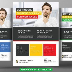 Free Multi Purpose Business Flyer Psd Template