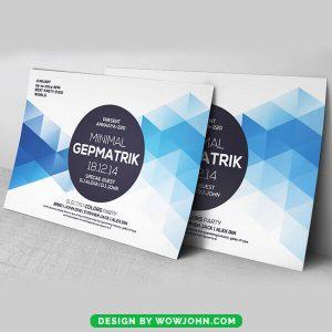 Free Tech Grid Flyer Psd Template