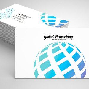 Free Marketing Business Card Psd Template