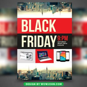 Free Black Friday Sale Psd Flyer Template