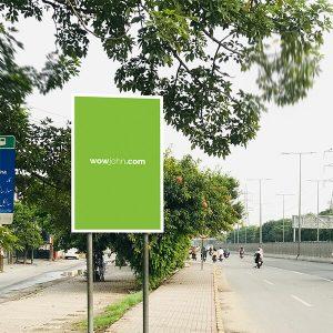 Free Psd Outdoor Street Advertising Billboard Mockup