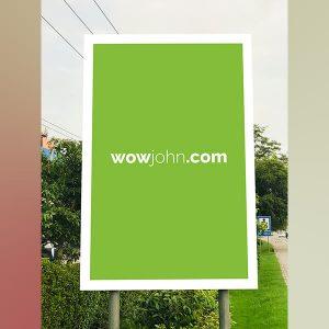 Free Display Stand Billboard Mockup Psd Download