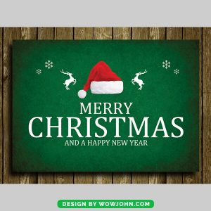 Free Christmas Card Flyer Psd Template