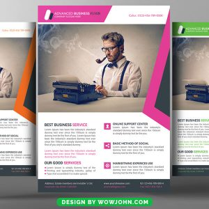 Free Cancer Flyer Psd Template