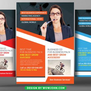 Free Clinic Flyer Psd Template