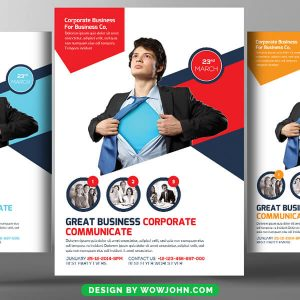 Commercial Business Real Estate Flyer Psd Template
