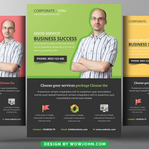 Free Consultant Flyer Psd Template