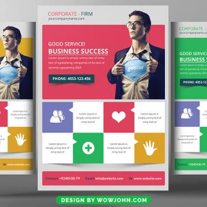 Free Creative Business Flyer Psd Template