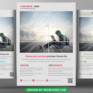 Free Contest Flyer Psd Template