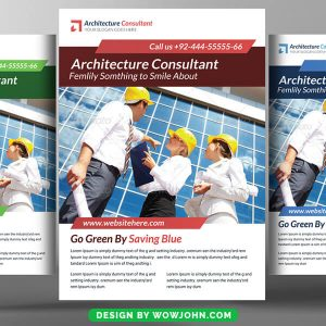 Free Architecture Business Flyer Psd Template