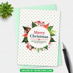 Christmas Celebrations Invitation Card 2021