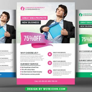 Free Education Study Flyer Psd Template