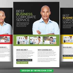 Business Reopening Flyer Psd Template
