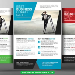 Conference Invitation Flyer Psd Template