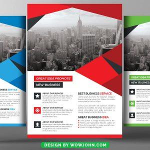 Free Interior Design Flyer Psd Template