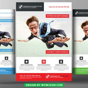 Free Property Flyer Psd Template