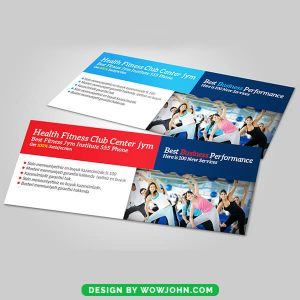 Health Fitness Facebook Timeline Cover Psd Template