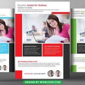 Education Flyer Design Psd Free Download