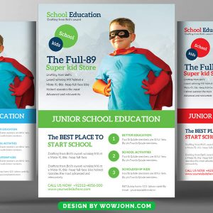 College Advertisement Poster Template Free Download