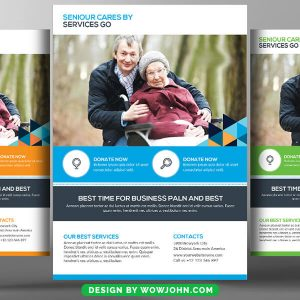 Free Best Home Care Psd Flyer Template